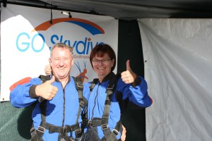 Betty and Jim ready to Jump